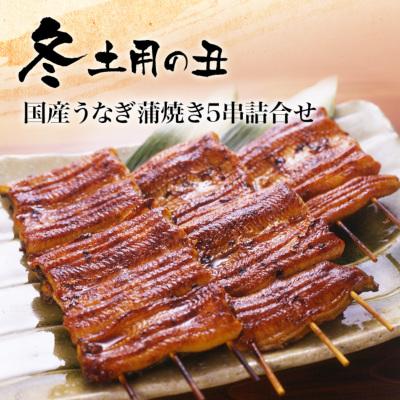 国産うなぎ串蒲焼き5串